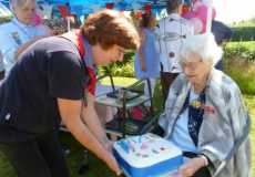 Joan Downing's 100th birthday